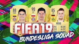 BEST BUNDESLIGA TEAM IN FIFA 19 ULTIMATE TEAM