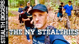 The Ny Stealthies Metal Detecting Nh Cellar Holes Relic Hunting In The Summer Heat #246