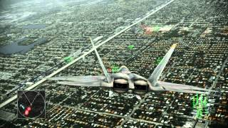 Ace Combat: Assault Horizon Mission 1 Nightmare, Shockwave Xbox 360 gameplay