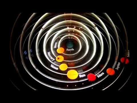 A tribute to Carl Sagan - The Pale Blue Dot.