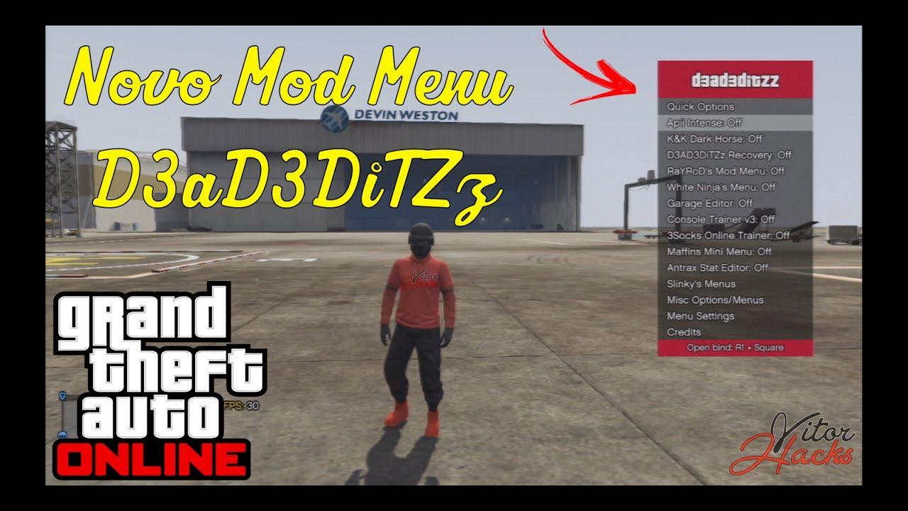 how to open mod menu gta 5