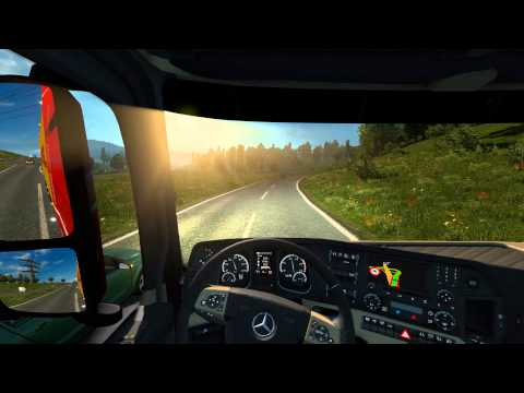 Euro Truck Simulator 2: Brussel (B) to Lublin (PL)(Fresh Fis