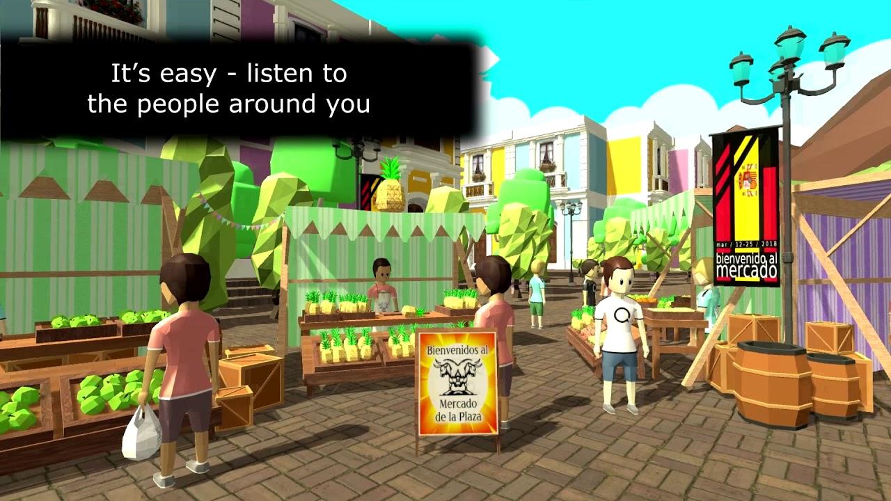LOQUI - Virtual Reality Language Learning