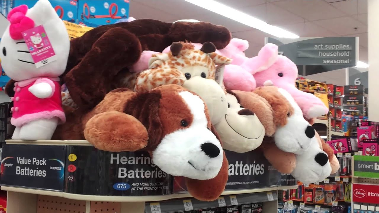 More Big Stuffed Animals At Walgreens YouTube