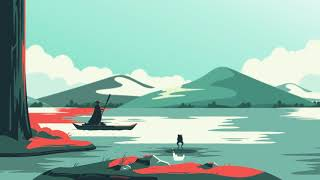 Der Fluss (Loop-Animation)