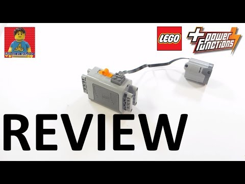 LEGO Power Functions 8881 AA Battery Box And 8882 XL Motor Review