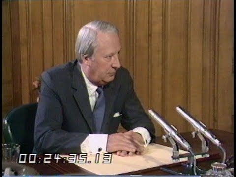 Conservative Party | Edward Heath Interview | This Week | 1972