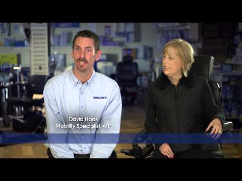 Binson's Power Wheelchair TV Commercial