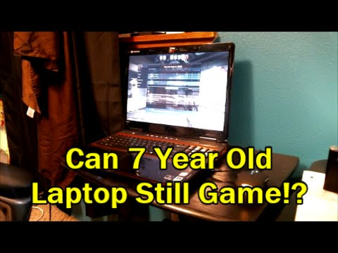Can A 7 Year Old Gaming Laptop Still Game!? Gateway p-7805u (CS:GO Dota)