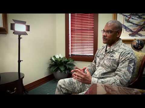 Command CMSgt Jack Johnson Comments