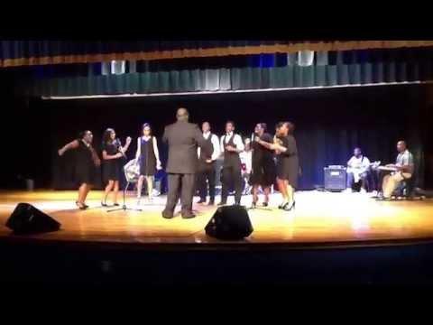 "South Florence High School Gospel Choir covers EMBC Youth Choir ""The Lord's Prayer"""