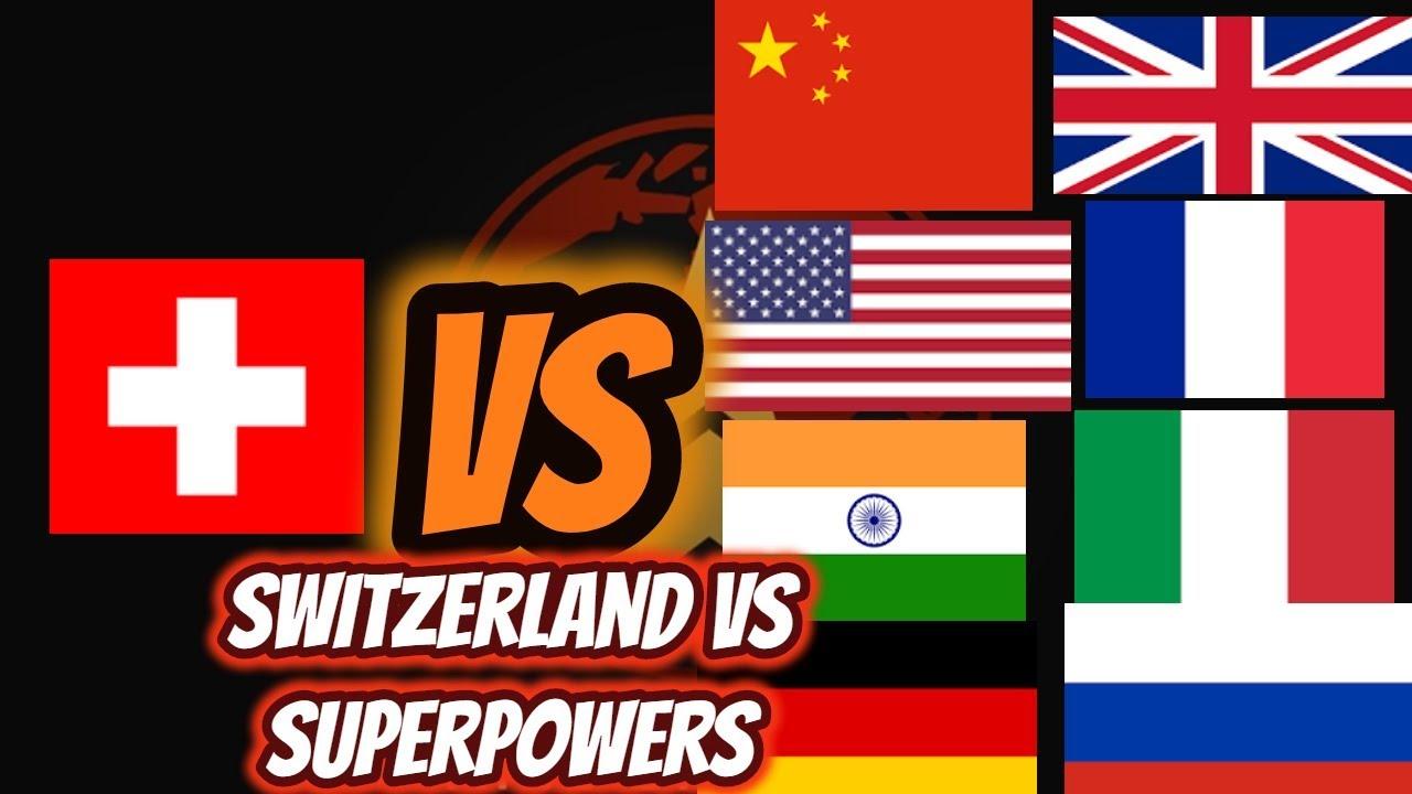Switzerland Vs Supers China Us