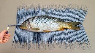 EXPERIMENT 500 Sparklers Vs Fish