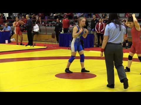 2015 Nordhagen Classic: 48 kg Abby Lloyd vs. Augusta Eve