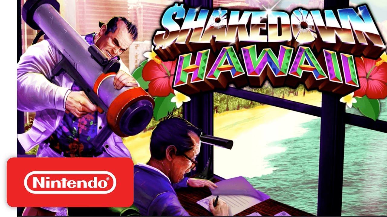 [Switch] Un mois de sortie et un trailer d'annonce pour Shakedown Hawaii