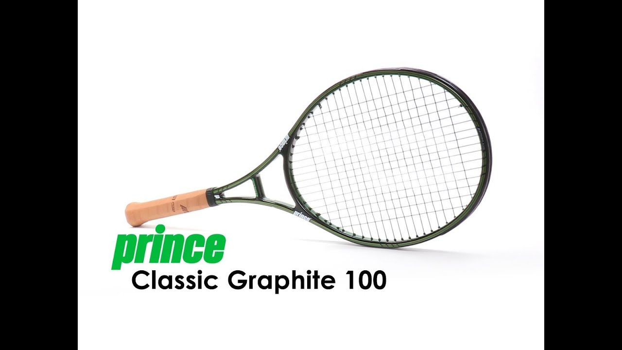 Prince Classic Graphite 100 Racquet Review - YouTube