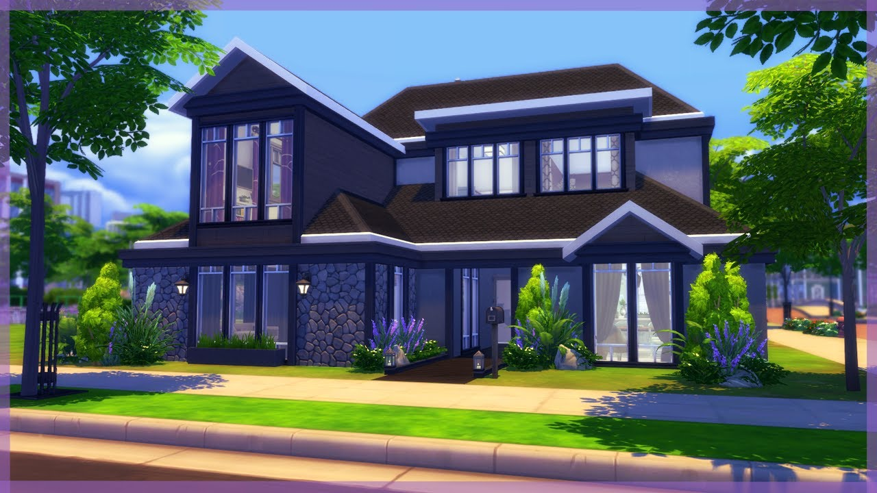 the sims 4 parenthood house build modern family home covet drive youtube. Black Bedroom Furniture Sets. Home Design Ideas