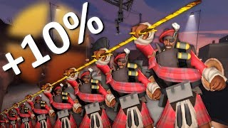TF2 but every time I die I get 10% LARGER!