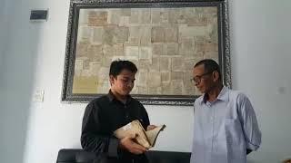 Lagi lagi Doktoro esperanto el Aceh mempromosikan manuscript asli kerajaan Aceh