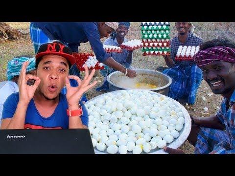 طبخ 500 بيضة شكشوكة ومسلوق بالخلطة الهندية مستحيل دا حصل الجعان لا يشاهد