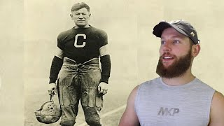 Rugby Player Reacts to JIM THORPE #37 The Top 100 NFL's Greatest Players!