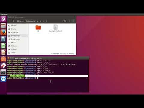Как создать текстовый файл в linux