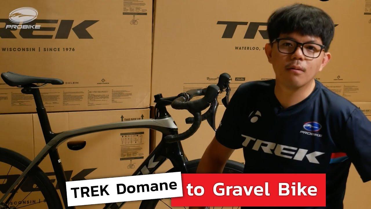 Trek Domane to Gravel Bike