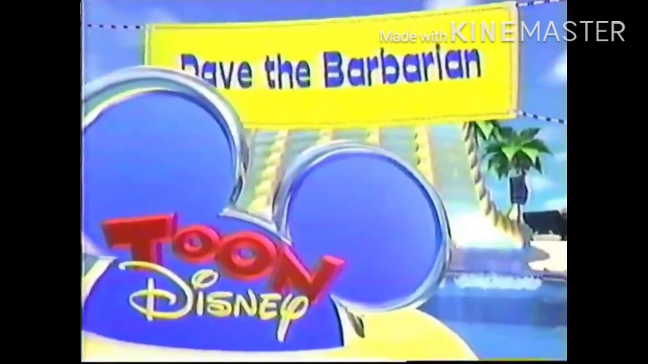 Download Toon Disney Dave The Barbarian WBRB And Incomplete BTTS Bumpers (Summer 2005)