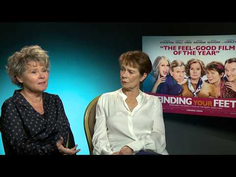 Finding Your Feet - Imelda Staunton and Celia Imrie interview