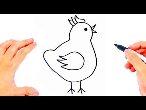 dibujos-para-niños-|-dibujar-y-colorear-dibujos-fáciles-para-niños-pequeños
