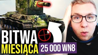 BITWA MIESIĄCA - 1 VS 8 - World of Tanks