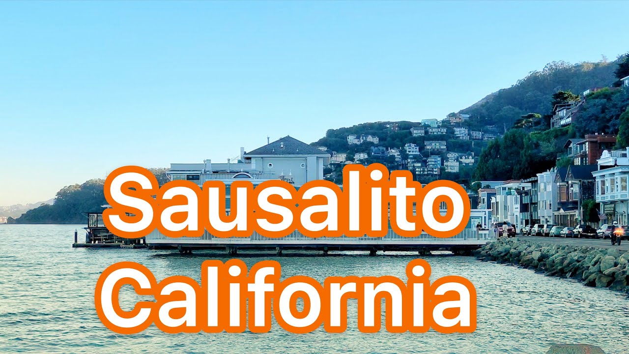 Driving to Sausalito, California - Short Trip From San Francisco