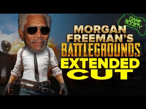 Playerunknown's Battlegrounds - Morgan Freeman Story Time - Game Society