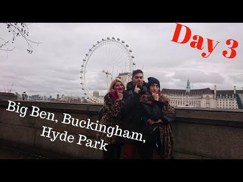 London Trip Part 3 - Big Ben, Buckingham, Hyde Park