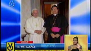 Papa Francisco nombró a José Luis Azuaje abispo del estado Barinas