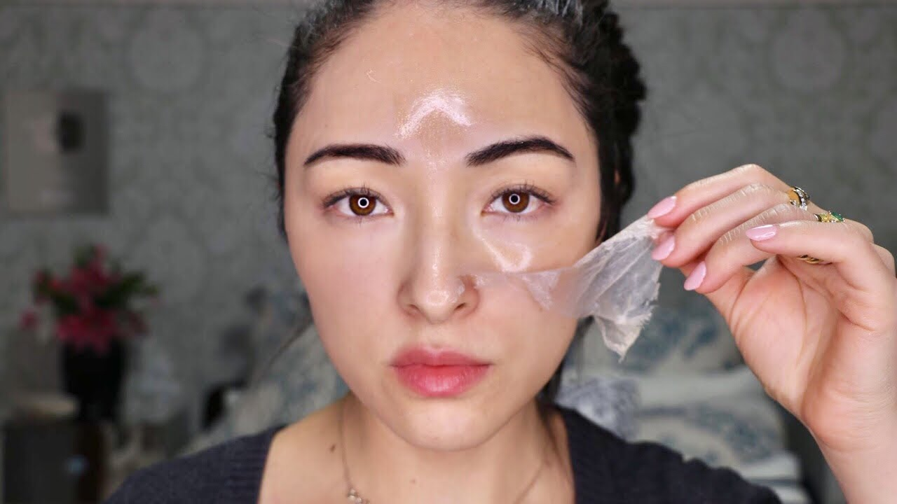 Mascara Facial De Ouro Clareia Pele Remove Oleosidade Da Pele Na