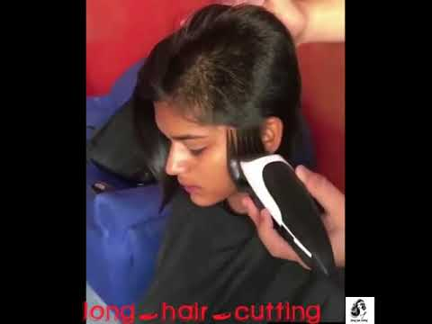 Indian Girl Forced Headshave By Director !!!
