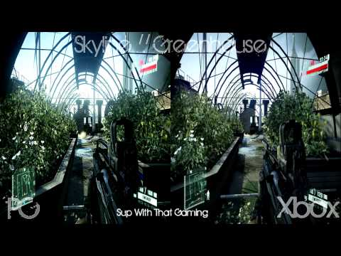 Crysis 2: PC Vs. Xbox 360 Side by Side Graphics Comparison (HD)