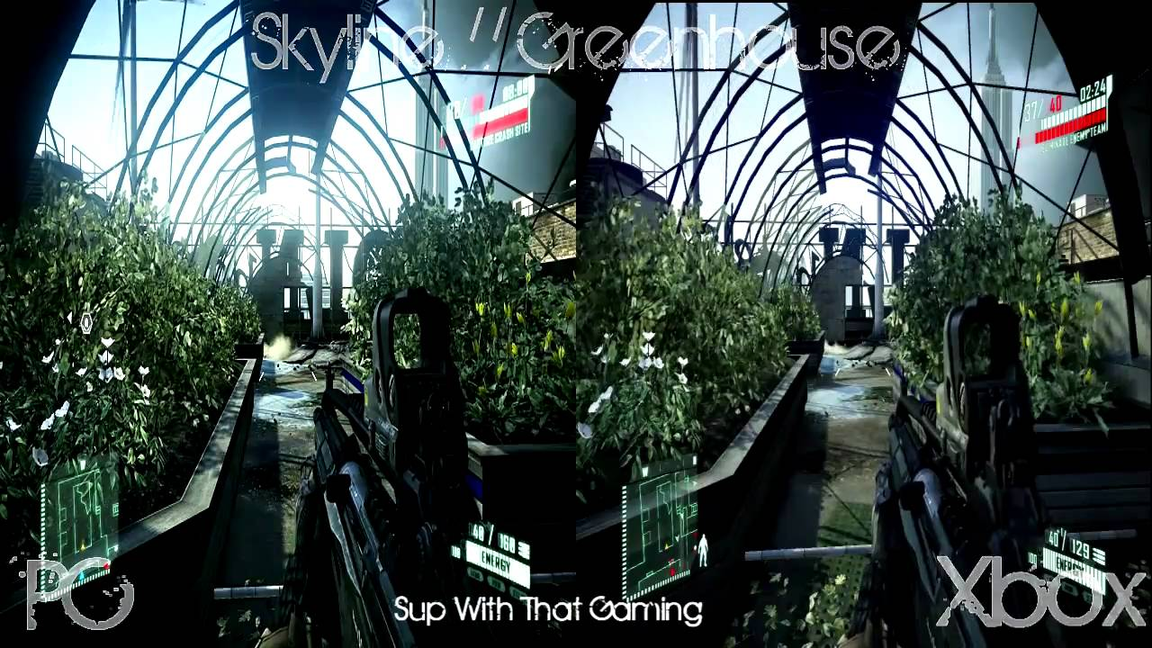 Xbox One Vs Xbox 360 Graphics Side By Side Crysis 2: PC Vs. Xbox ...