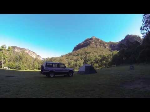 Newnes Campground, Wollemi National Park, Near Lithgow, NSW