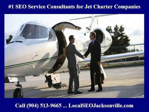#1 SEO Services Consultants for Charter Jets & Jet Charter C