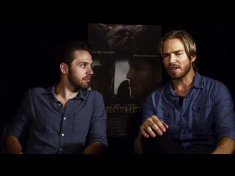 'BROTHERS' Interview Junket with Jilon VanOver and Matthew F