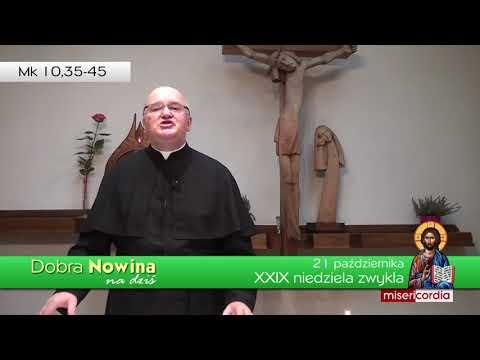 Dobra Nowina na dziś | 21 października - XXIX Niedziela zwykła