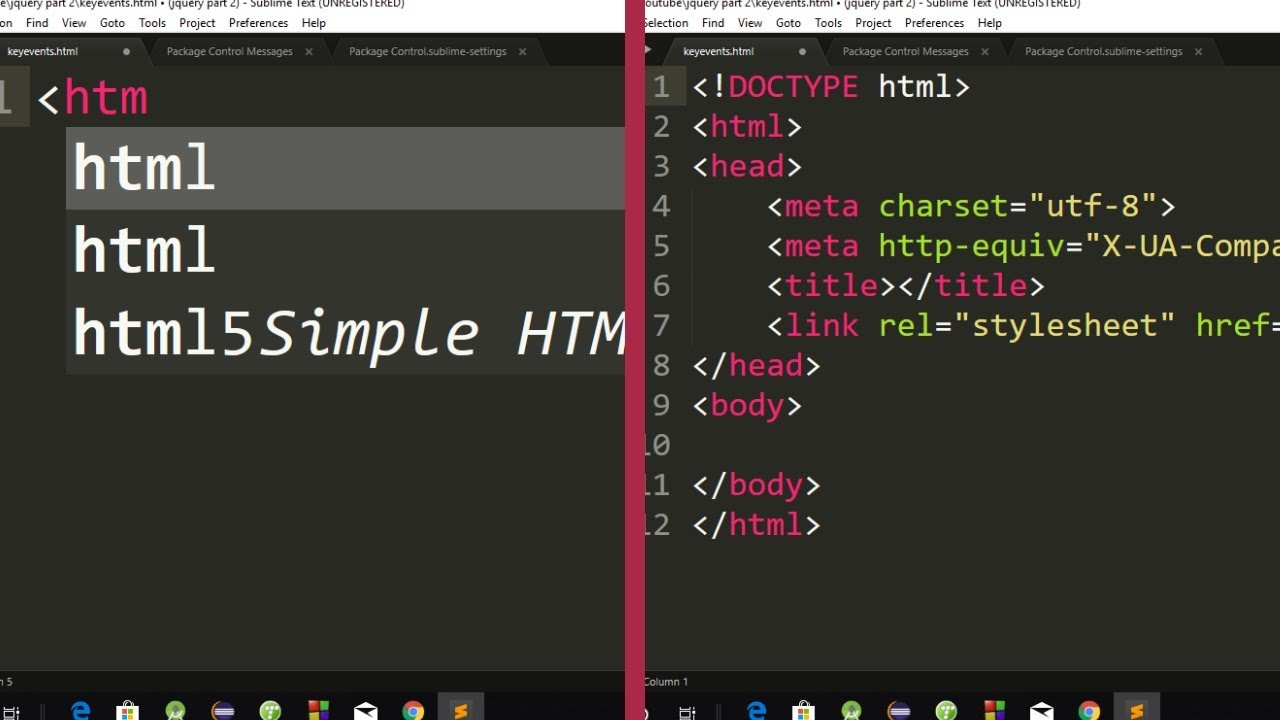 Html5 And Css3 Autocomplete Package