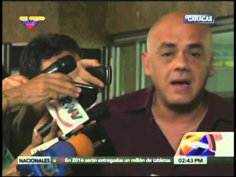 Jorge Rodríguez: Luis Manuel Díaz era miembro de peligrosa banda, denunciará a Ramos Allup