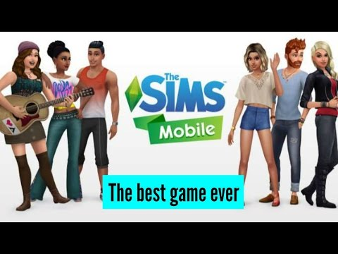 The Sims Mobile : Episode 1 | Working at a cafe