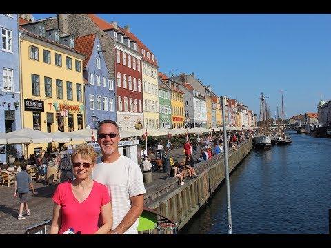 COPENHAGEN DENMARK - walk around the city center area, August 2019