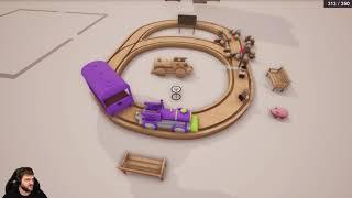 Drewniana kolejka - Tracks - The Train Set Game / 02.08.2019 (#2)