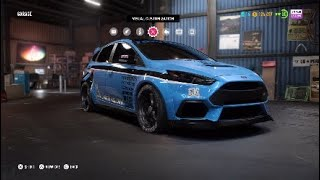 NFS Payback: Ford Focus RS Offroad Build