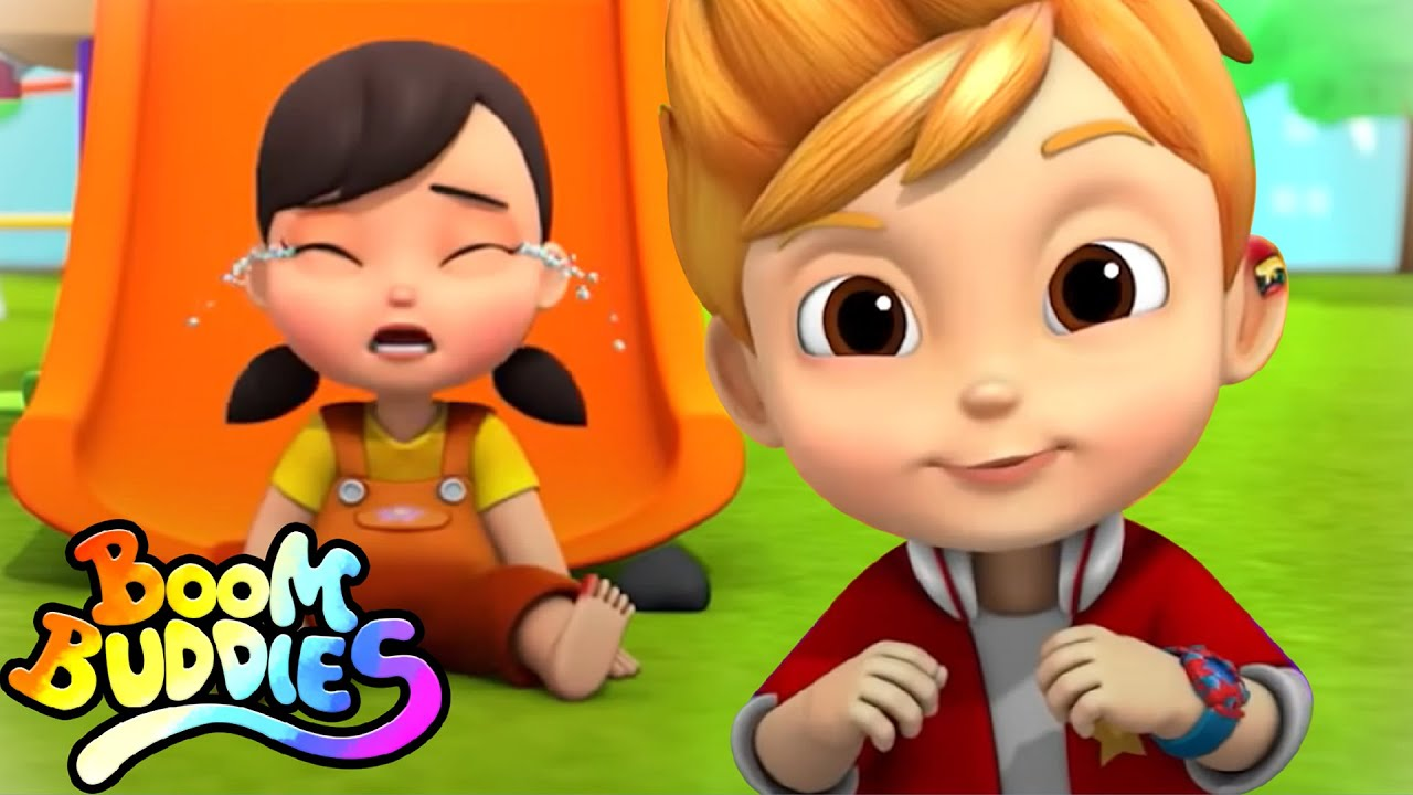 Download New Boo Boo Song   Baby Sick Song   Doctor Song   Nursery Rhymes And Kids Songs with Boom Buddies